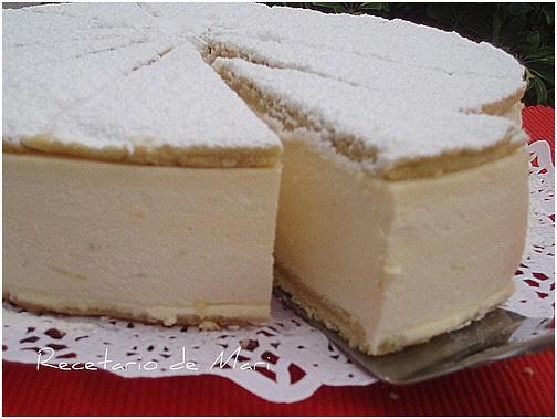 tarta de queso y nata 3
