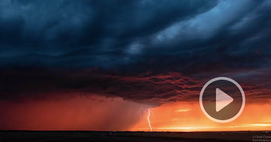 Fractal: A Magnificent Supercell Thunderstorm Timelapse by Chad Cowan