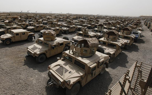 ISIS Has $1B Worth Of US Humvee Armored Vehicles; One Was Used In Monday's Suicide Bombing Near Baghdad