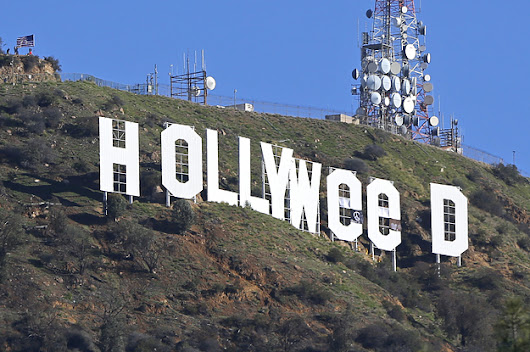 "Meet The Artist Who Says He Changed The Hollywood Sign To ""Hollyweed"""