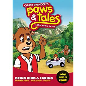 Being Kind and Caring: Biblical Wisdom for Kids (Paws & Tales)