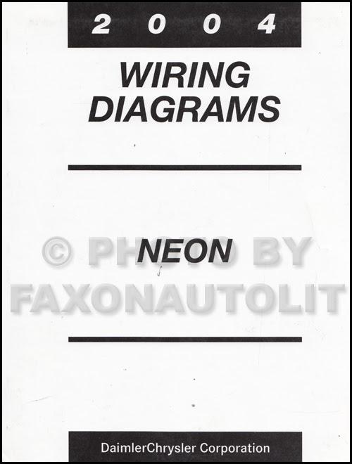 Wiring Diagram  33 2004 Dodge Neon Wiring Diagram