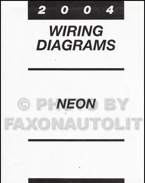 35 Dodge Neon Wiring Diagram
