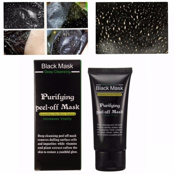 Blackhead Remover Cleaner Purifying Cleansing Peel Off Acne Black Mud Face Mask