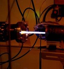 El haz de luz del sincrotrón. / ESRF