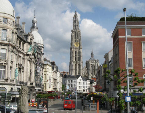 Cathedral of Our Lady in Antwerp Belgium (Onze-Lieve-Vrouwekathedraal)