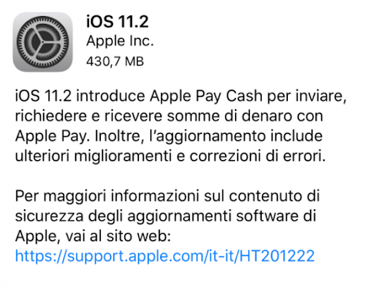 Apple Released iOS 11.2 For iPhone, iPad and iPod touch!
