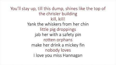 Annie Song Its A Hard Knock Life Lyrics
