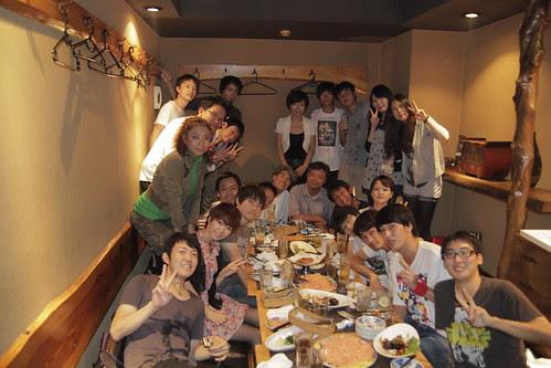 Group photo. Ando Laboratory. 20 Sept 2010