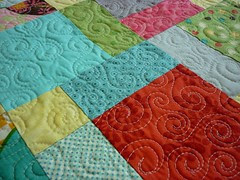 allover swirl quilting