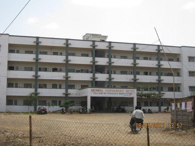 Moze College - Karia Developers' Konark Meadows - 1 BHK 2 BHK 3 BHK Flats - is behind it - at RMC Garden Compound - Wagholi - Nagar Road - Pune