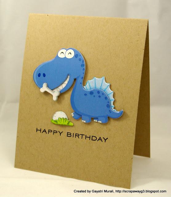 Dinosaur card 3