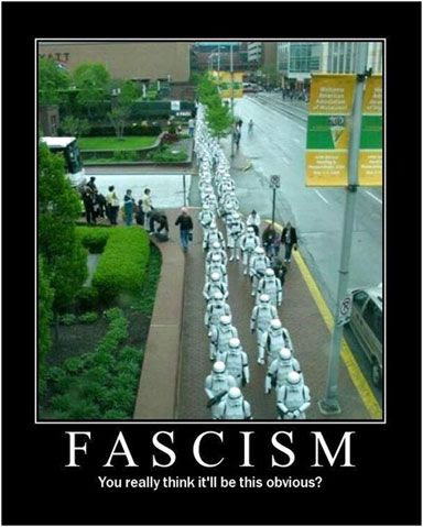 Stormtroopers on the move.