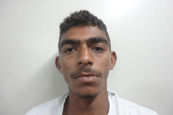 Boniedson Sales do Nascimento, 20 anos, confessou ser usuário de crack e a prática de assaltos para bancar o vício