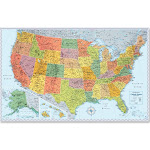Rand McNally U.S. Wall Map