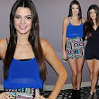 Model sisters Kendall and Kylie Jenner leg it to charity event in playful outfits