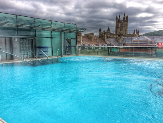 Taking the waters at Thermae Bath Spa - Cosy Life