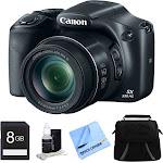 Canon PowerShot SX530 HS 16MP 50X Opt Zoom Full HD Digital Camera