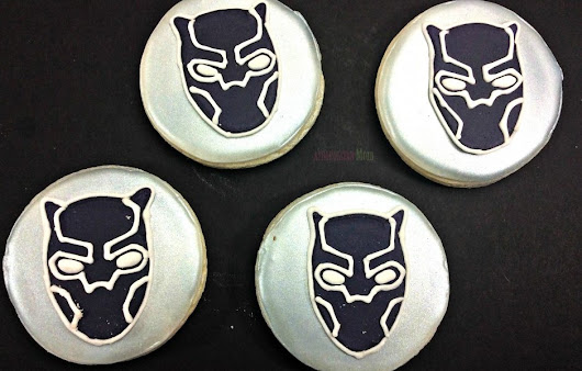Recipe – Marvel's Black Panther Cookies
