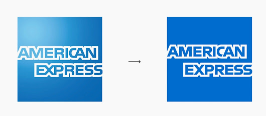 American Express is the newest member of the minimalist logo club