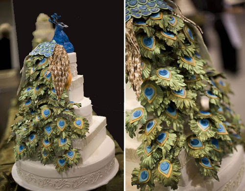 Peacock Wedding Cakes - Best of Cake | Best of Cake