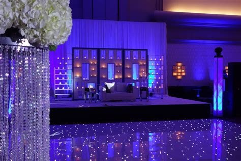 Beautiful wedding reception with our LED dance floor