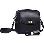 Jo Totes Granada Bag, Leather, Black
