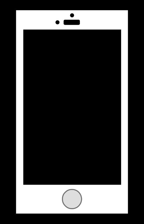 スマートフォンのイラスト はる蔵ブログ