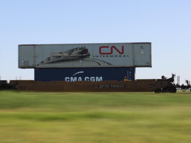 CN intermodal pan