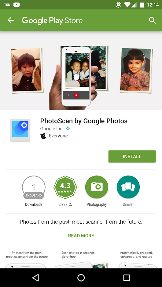Google Launches PhotoScan Android App : Scanner from the Future • vlogg.com