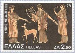 Artemis Apollo and Leto