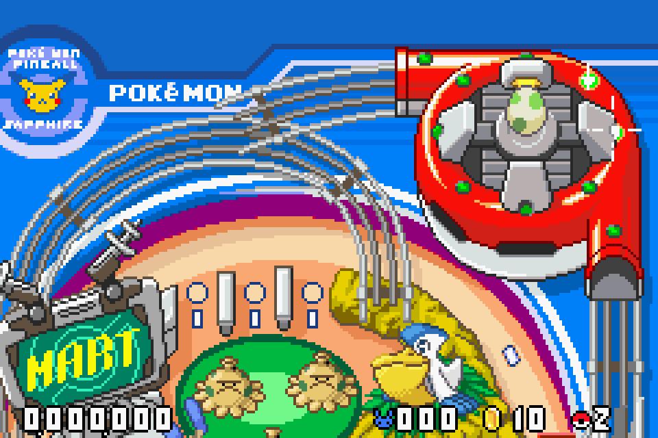 Pokemon Pinball: Ruby and Sapphire Screenshots  GameFabrique