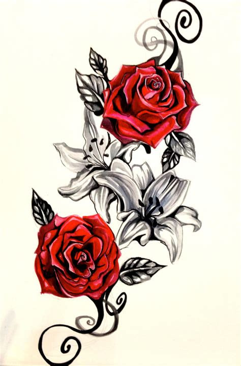 tattoo design roses tatoo