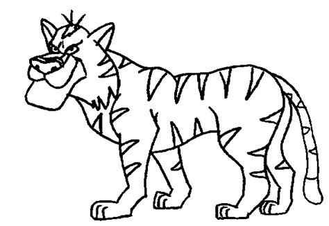 printable animal colouring pages  kids