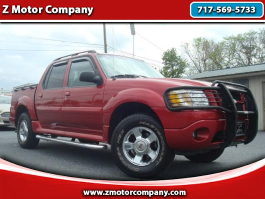 Used 2005 Ford Explorer Sport Trac Adrenalin 4WD for Sale in East Petersburg PA 17520 Z Motor Company