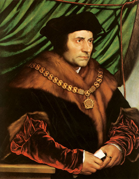 Victory St. Thomas More Holbein Portrait