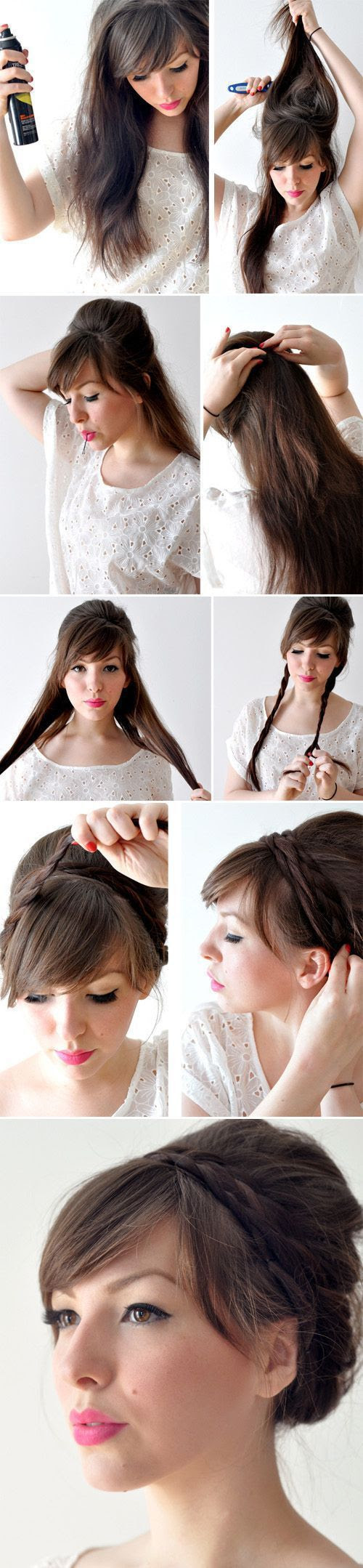 Easy Hairstyles For Short Hair To Do At Home Haircuts