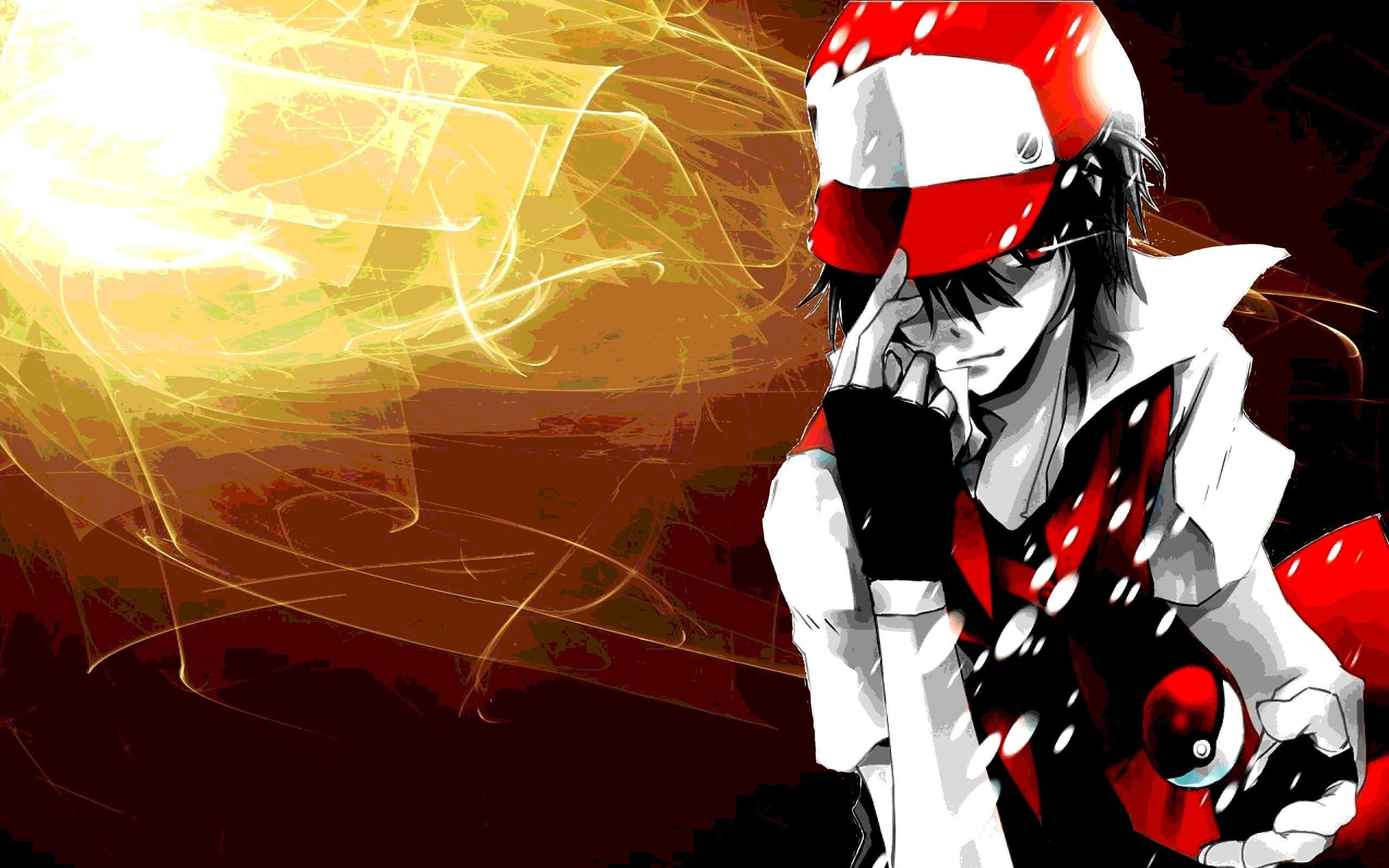 Pokemon Trainer Red Wallpaper 69 Images
