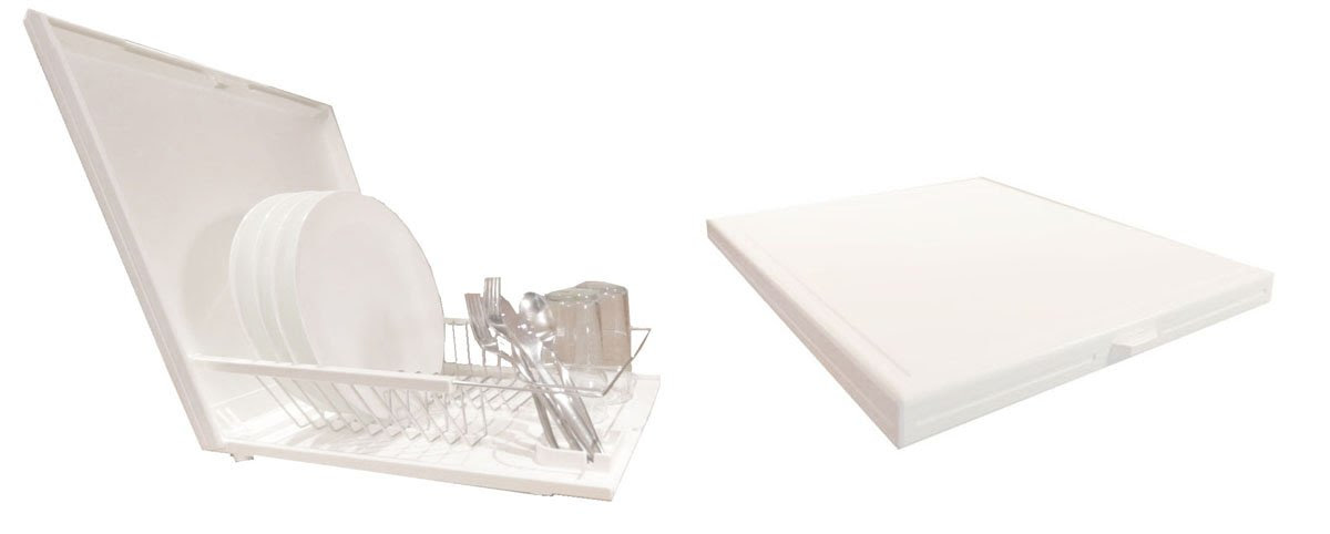The Cubodira Cutting Board and Collapsible Dish Drying Rack