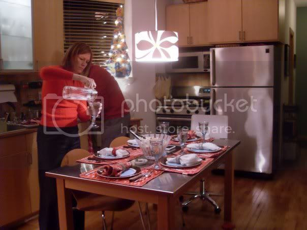 Christmas Kitchen prep