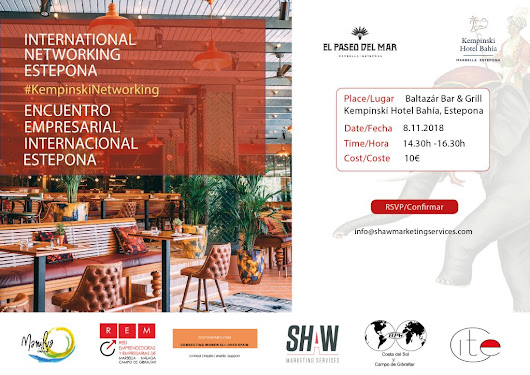 International Networking Groups come together at the Kempinski Hotel Bahía
