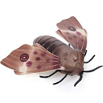 remote control moth toys simulated insect toys infrared sensing portable rc toy