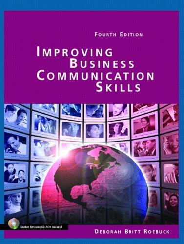 Improving Business Communication Skills (4th Edition)