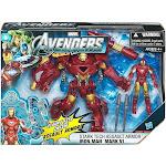Marvel Avengers Movie Series Stark Tech Assault Armor Iron Man Mark VI Action Figure