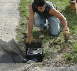 Catch Basins Yard Drains Albany Schenectady Ny Landscape
