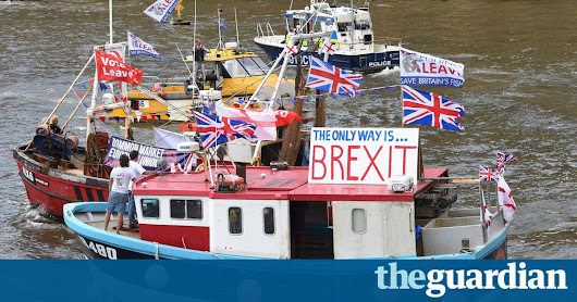 UK fishermen may not win 'waters back' after Brexit, EU memo reveals | Environment | The Guardian