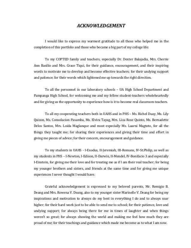 Acknowledgement Letter Ojt Amsauh