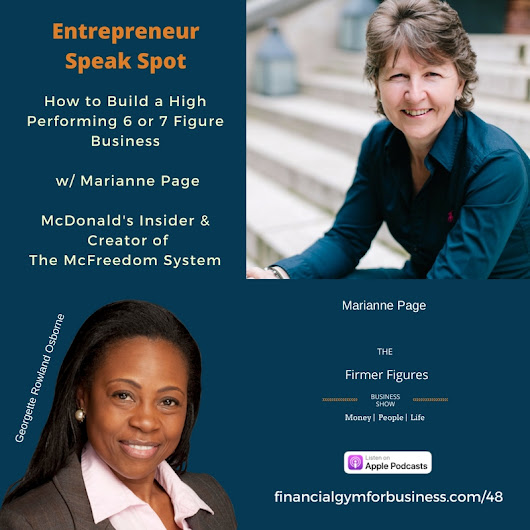 FFS48-How to Build a High Performing 6 or 7 Figure Business w Marianne Page