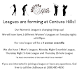 Leagues are forming!! - Centura Hills Golf Club