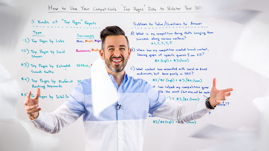 "How to Use Your Competition's ""Top Pages"" Data to Bolster Your SEO Efforts - Whiteboard Friday"